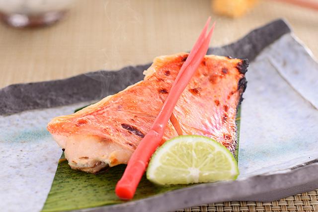 きんめ鯛「鶴齢」大吟醸粕漬